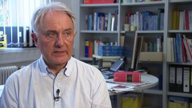 Volker Lilienthal, Professor für Journalistik an der Universität Hamburg © NDR