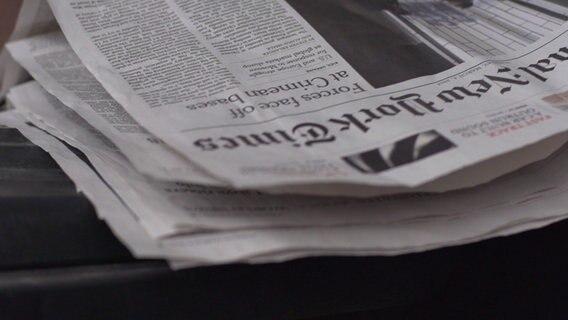 'New York Times' ist Flaggschiff der Pressefreiheit