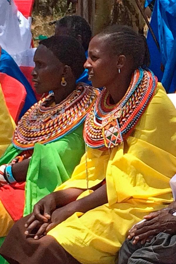 Samburu Perlenmädchen