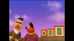 Ernie und Bert aus der Sesamstrasse (Folge 2797).