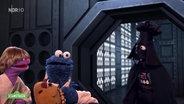 Krümelmonster als Han-Solo