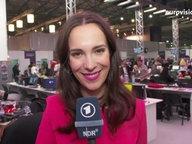 Alina Stiegler berichtet aus dem Pressezentrum in Kiew.