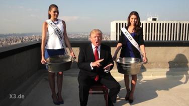 Trump bei der Ice-Bucket-Challenge