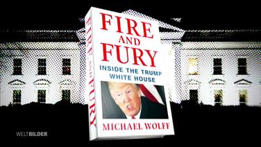 "Buch ""Fire and Fury""."