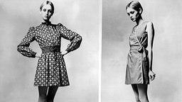 Twiggy, Model aus den 60er Jahren © picture-alliance / dpa
