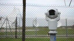 Eine schwenkbare Überwachungskamera