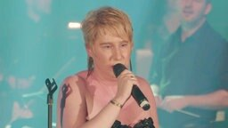 Die Sängerin Corinna May