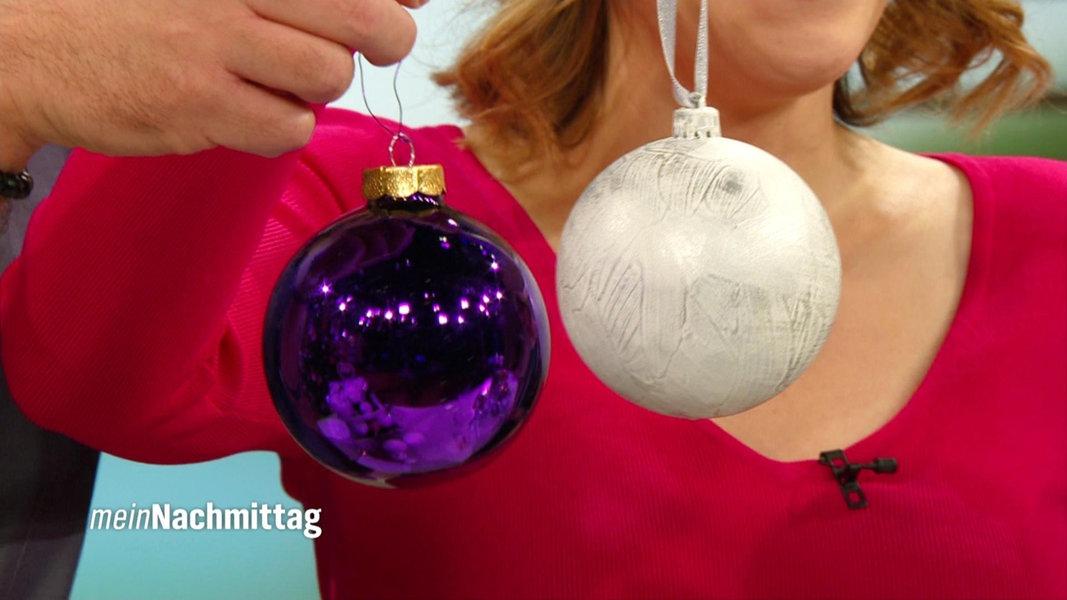 Alte weihnachtskugeln upcyceln fernsehen for Mein nachmittag mediathek