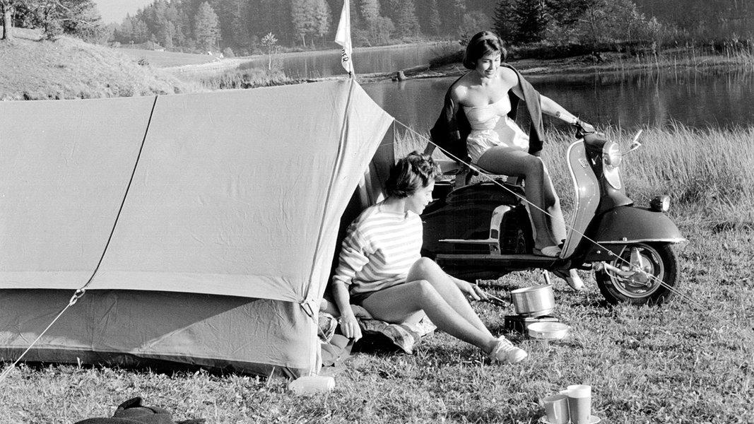Camping: Nach dem Krieg mit dem Zelt in die Freiheit
