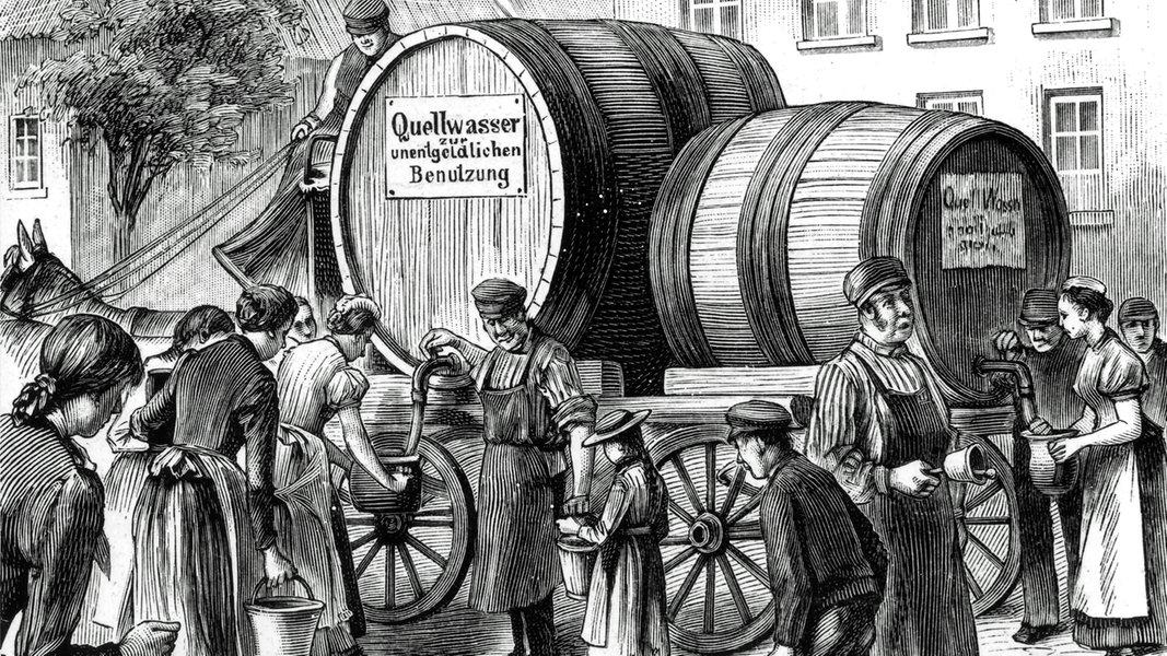 Cholera Hamburg