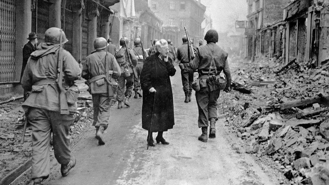 2. Weltkrieg Ende