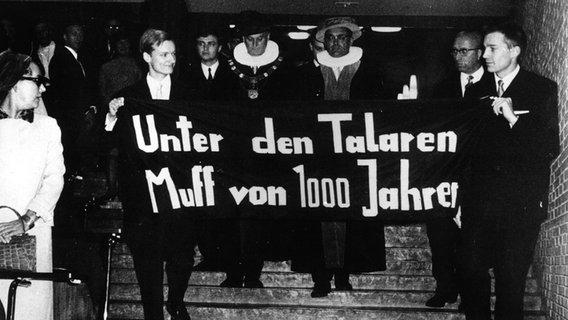 68er-Bewegung in Hamburg: Studenten erinnern mit Doku