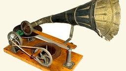 Trichtergrammophon aus Emil Berliners erster Serie © Deutsche Grammophon GmbH