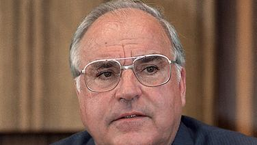 Helmut Kohl. © dpa-Bildarchiv