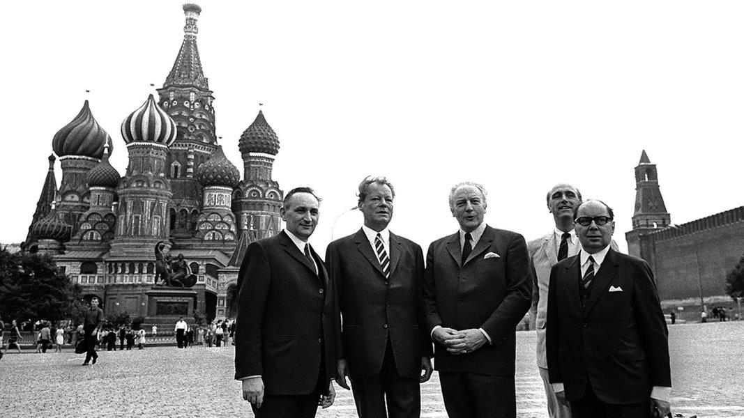 Neue Wege Willy Brandt Und Die Ostpolitik Ndr De