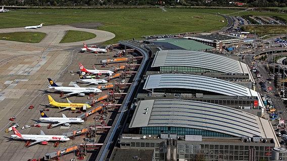 Hamburgs Flughafen Eine Bewegte Geschichte Ndrde