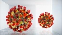 Darstellung eines Coronavirus © panthermedia/ fotolia.com Foto:  lamianuovasupermail@gmail.com (YAYMicro), peshkov