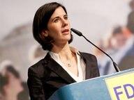 Katja Suding spricht auf einer FDP-Veranstaltung © dpa Fotograf: Malte Christians