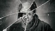 Montage aus mehreren Gesichtern hinter einer zerbrochenen Glasscheibe. © photocase Foto: pollography