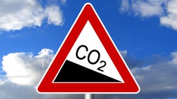 Warnschild Kohlendioxid © ferkelraggae /Fotolia.com Foto: ferkelraggae