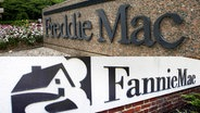 Logo Freddie Mac, Logo Fannie Mae (Montage) © picture alliance/AP Photo Foto: Pablo Martinez Monsivais, Manuel Balce Ceneta