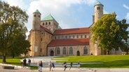 Die St. Michaelis Kirche in Hildesheim © Hildesheim Marketing Foto: Nina Weymann