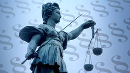Justitia vor Paragraphen. © imago Foto: Ralph Peters, imago/CTK Photo