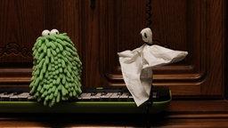 Folge17. Wandschrankspuk: Mop sieht ein Gespenst © NDR Foto: Screenshot