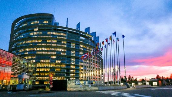 Das EU-Parlament in Straßburg © European Union 2019 Foto: EP / Mathieu Gugnot