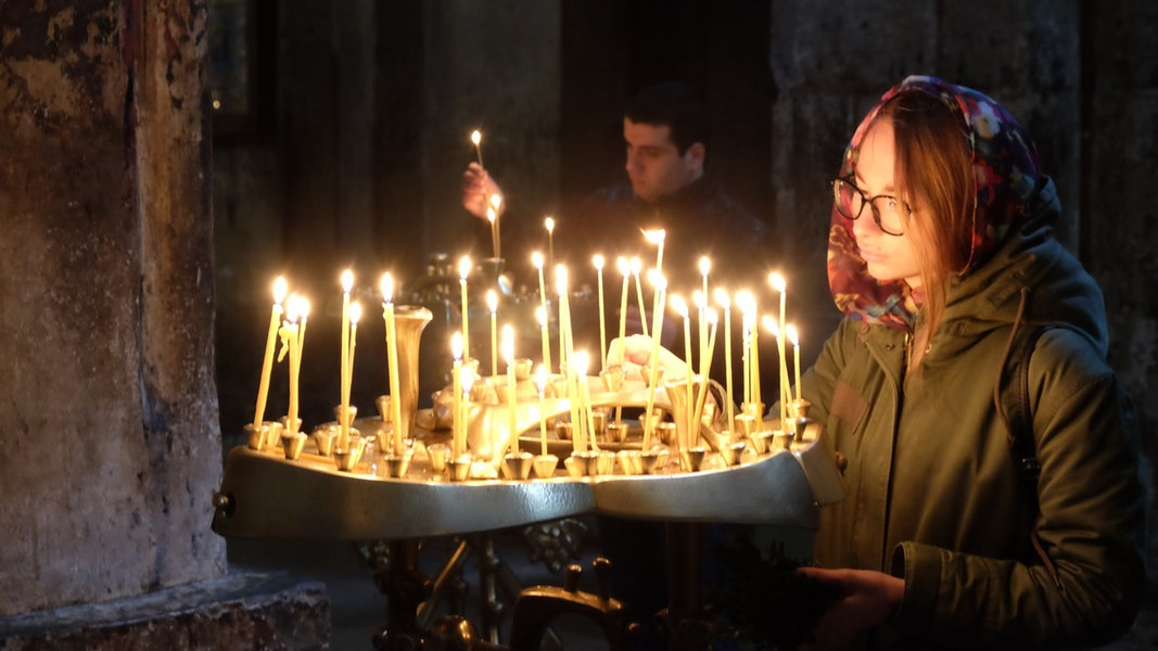 Orthodoxe Ostern in Georgien   NDR.de - Kirche im NDR