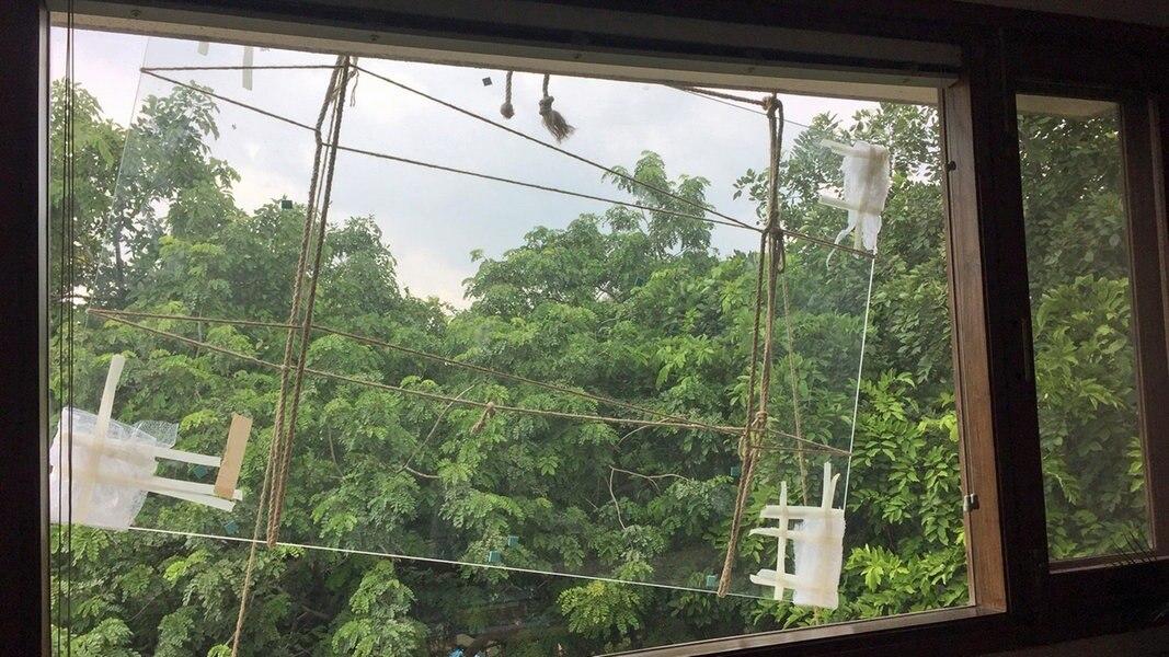 Monsun in Mumbai und Delhi