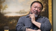 Ai Weiwei in Schwerin © picture-alliance, dpa Foto: Christian Charisius