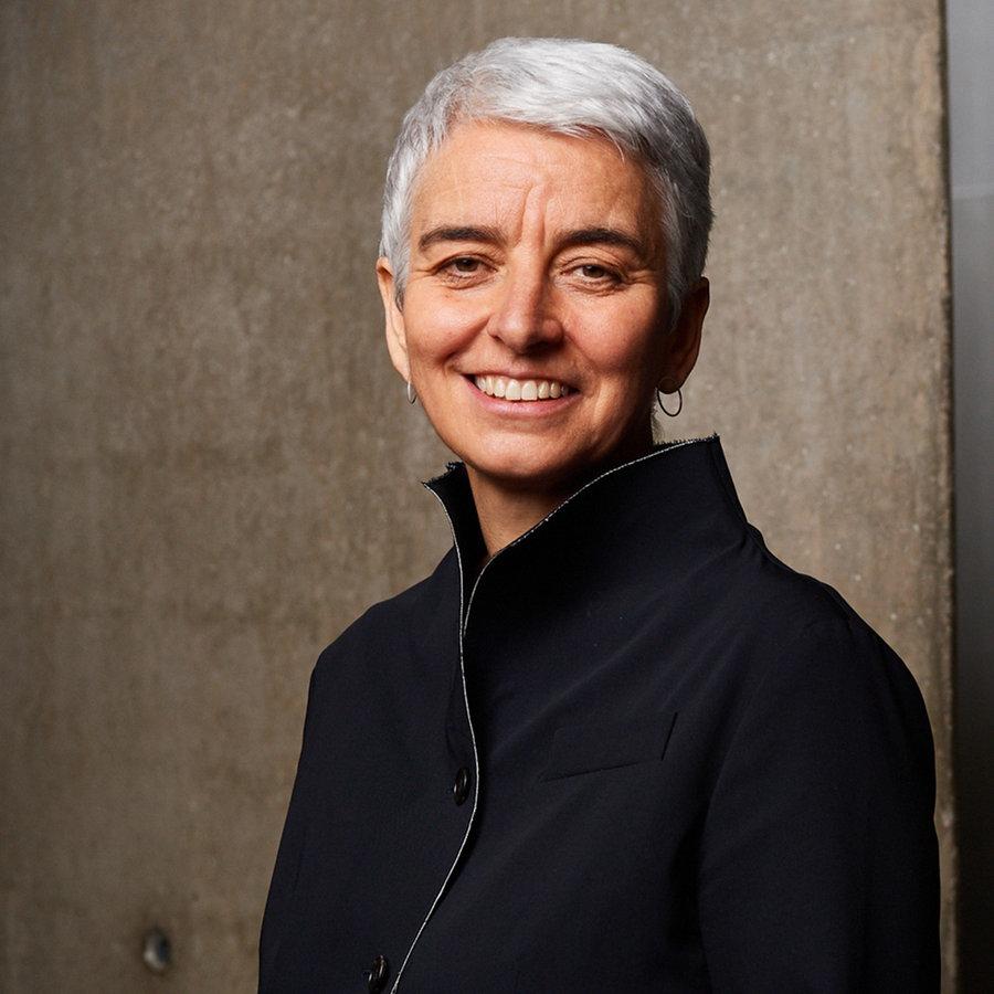 Museumsdirektorin Hetty Berg im Talk
