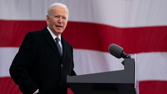Joe Biden © picture alliance/dpa/AP Foto: Evan Vucci