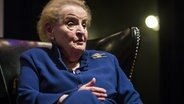 Die ehemalige US-Außenministerin Madeleine Albright © picture alliance / AP Photo Foto: Ashlee Rezin/Chicago Sun-Times