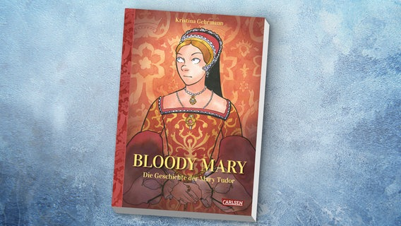 "Das Cover von Kristina Gehrmanns Graphic Novel ""Bloody Mary"" © Carlsen"
