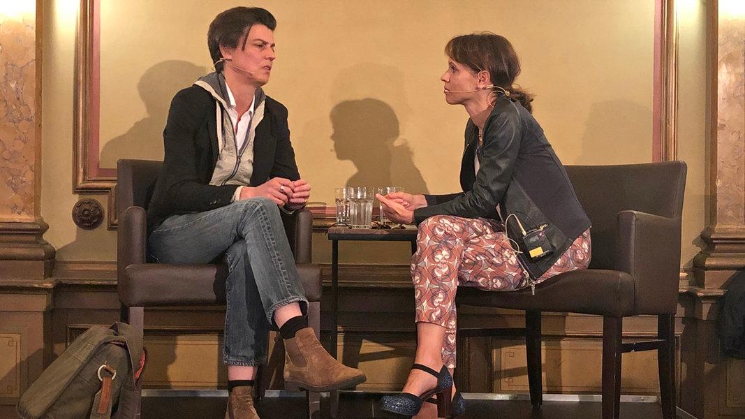 #MeToo: Carolin Emcke diskutierte im Literaturhaus