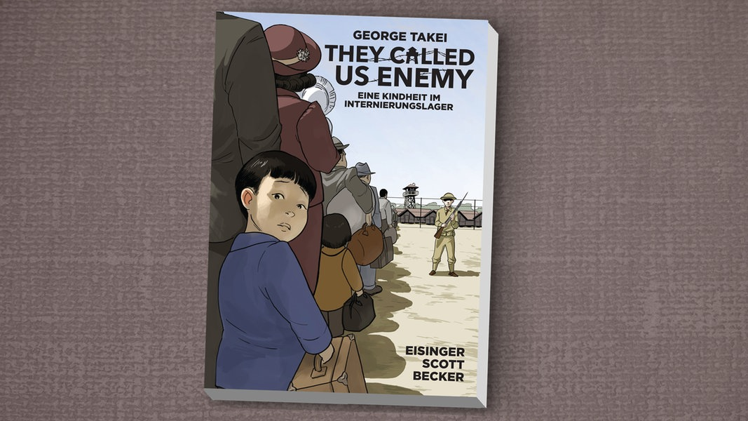 """George Takeis Comic: """"They Called Us Enemy"""""""