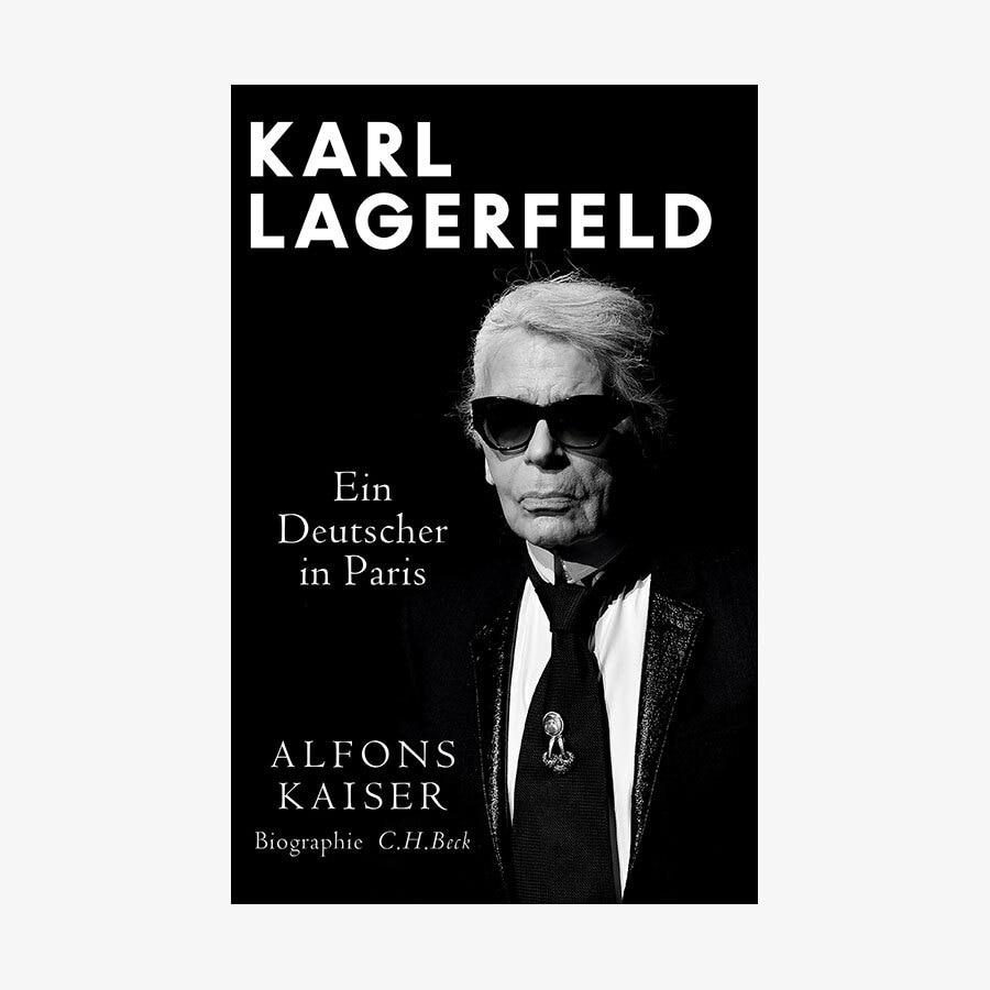 Karl Lagerfeld Biografie Uber Den Modezar Ndr De Kultur Buch