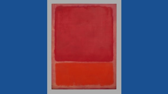 Untitled (Red, Orange)1968, Öl auf Leinwand, 233 x 175,9 cm
