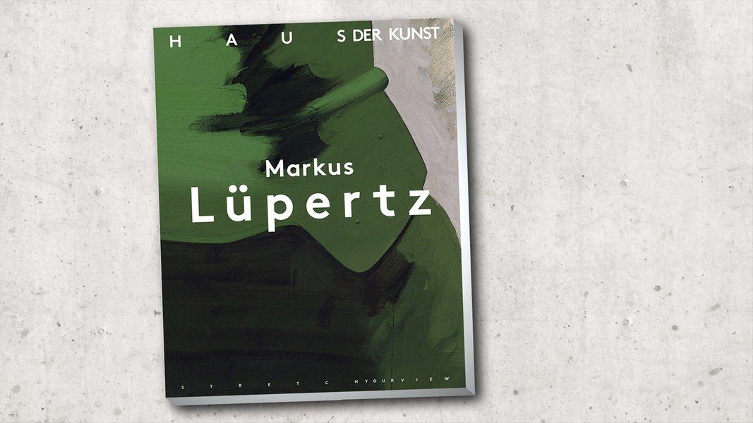 """Bildband: """"Markus Lüpertz - Über die Kunst zum Bild"""""""""""