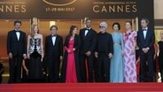 Gabriel Yared, Jessica Chastain, Park Chan-wook, Agnes Jaoui, Will Smith, Pedro Almodovar, Fan Bingbing, Maren Ade © dpa/Alberto Terenghi/Cannes / IPA