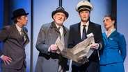 "Proben zum Musical ""Catch Me If You Can"" im Altonaer Theater © G2 Baraniak Fotograf: Baraniak"