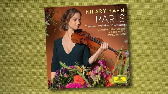 CD-Cover: Hilary Hahn - Paris © Deutsche Grammophon