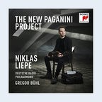 CD-Cover: Niklas Liepe - The New Paganini Project © Sony Classical