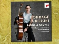 CD-Cover: Raphaela Gromes - Hommage à Rossini © Sony Classical