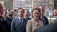 "Verlegerin Kai Graham (Meryl Streep) mit Kollegen in Steven Spielbergs Drama ""Die Verlegerin"" © Universal Pictures Intl. Germany"
