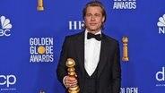 Brad Pitt bei der Preisverleihung der Golden Globes 2020 in Hollywood © Chris Pizzello/Invision/AP/dpa-Bildfunk