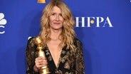 Laura Dern bei der Preisverleihung der Golden Globes 2020 in Hollywood © Chris Pizzello/Invision/AP/dpa-Bildfunk