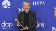 Moderatorin Ellen DeGeneres erhält in Beverly Hills einen Ehren-Golden Globe für ihr Lebenswerk © Chris Pizzello/Invision/AP/dpa-Bildfunk